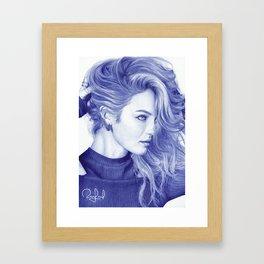Candice Framed Art Print