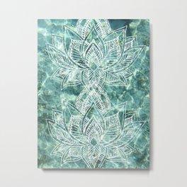Aquaflora Metal Print