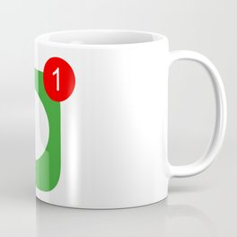 1 Unread Message Coffee Mug