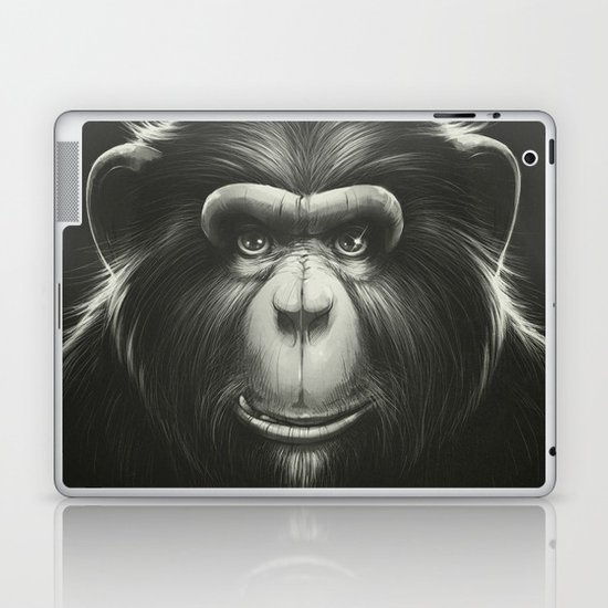 Monkee with Tooth Laptop & iPad Skin