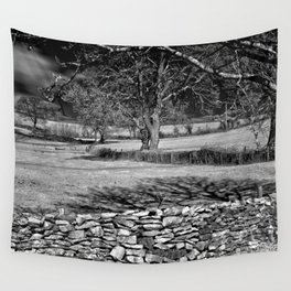 Infra Red Shadows Wall Tapestry