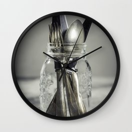 Forks spoons and knifes Wall Clock