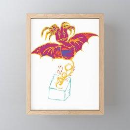 Bat Framed Mini Art Print
