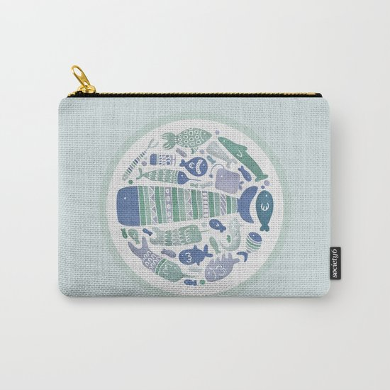 Little Fishes Carry-All Pouch
