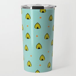 Beehives Travel Mug