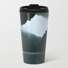 Throwing Flips on the Lake Travel Mug