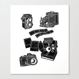 Weapons Of Mass creation - Photography (block print) Canvas Print