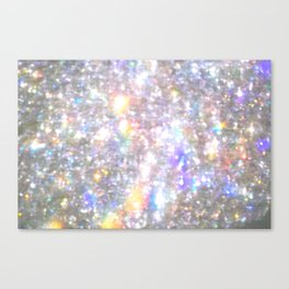 All that shimmers Canvas Print