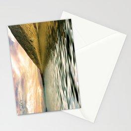 mountain lake 4 Stationery Cards