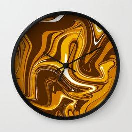 ABSTRACT LIQUIDS XI Wall Clock