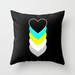 Requiessexuality in Shapes Throw Pillow