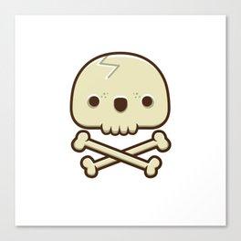 12# Skull Canvas Print