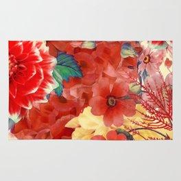 flowers 29 #flora #flowers #pattern Rug