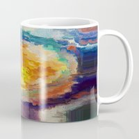 watercolour Mugs featuring WaterColour by MonsterBrown