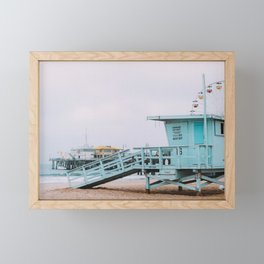 Lifeguard Off Duty Framed Mini Art Print
