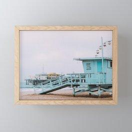 Lifeguard Off Duty Framed Mini Art Print