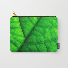 Sweet Green Leaf Carry-All Pouch