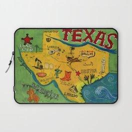 Postcard from Texas print Laptop Sleeve