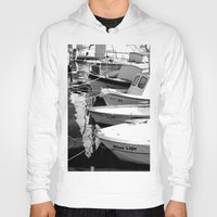 boats Hoodies featuring boats by habish