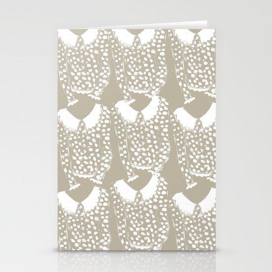 Polka Dot Sweater Stationery Cards