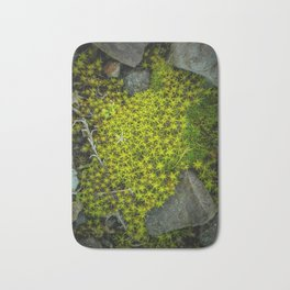 The tiny green forest Bath Mat