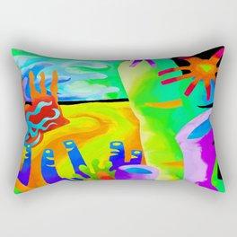 Submarine Joy Rectangular Pillow