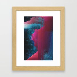 J0URN3Y Framed Art Print