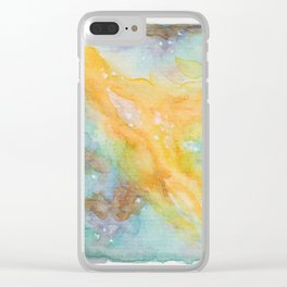 We Are Made of Heavens 01 Clear iPhone Case
