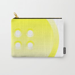 Button (from Design Machine archives) Carry-All Pouch