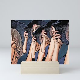 Women Seduction #women  Mini Art Print