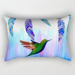 Brave and Free Rectangular Pillow
