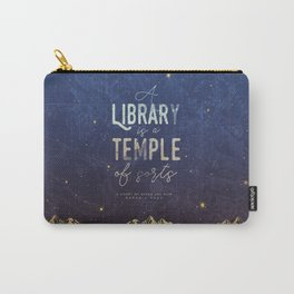 Library Temple Carry-All Pouch