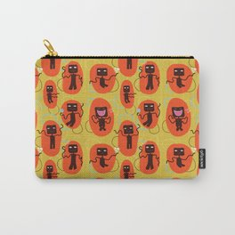 Happy robots - Pattern Carry-All Pouch