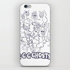 GGGHOSTS! iPhone & iPod Skin