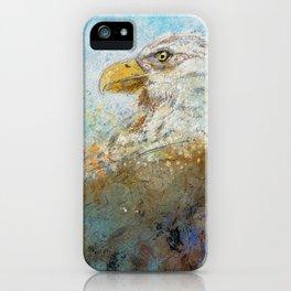 Expressive Bald Eagle iPhone Case