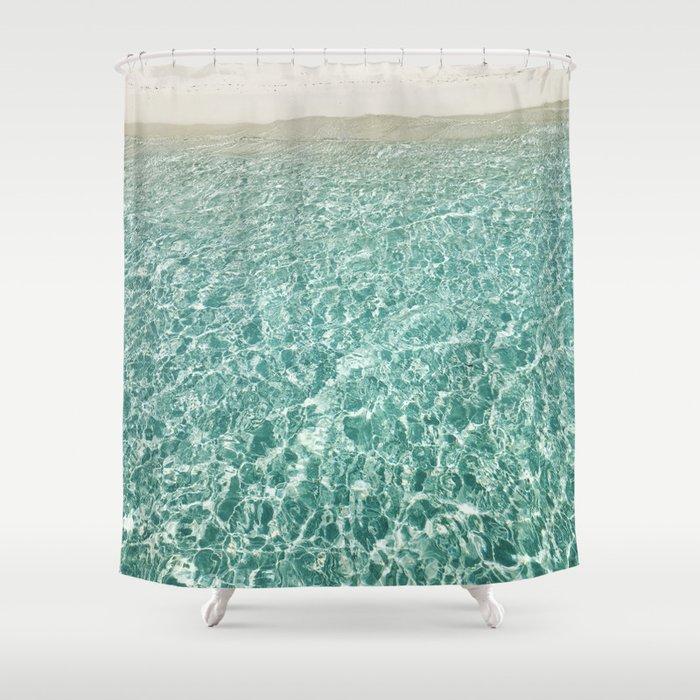 Crystal Clear Shower Curtain
