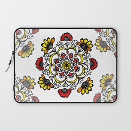 Doodle Mandala Laptop Sleeve