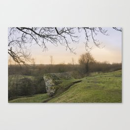The Last Ruin. Canvas Print