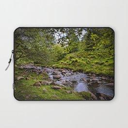 Afon Caerfanell Above Talybont Reservoir Laptop Sleeve