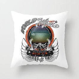 White Wings of the King of the World Throw Pillow