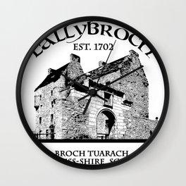 Lallybroch Outlander Wall Clock