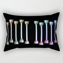 Columns I Rectangular Pillow