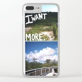 MORE Clear iPhone Case