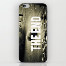 fim. iPhone & iPod Skin