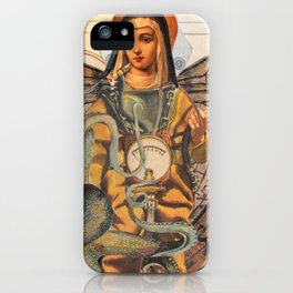 Flying Mary Deep Sea Diver  iPhone Case