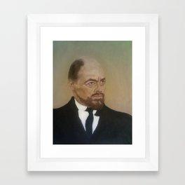 Michael Bryant As Lenin Framed Art Print