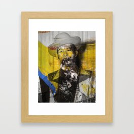 Hillbilly Beard Framed Art Print
