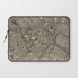 Vintage Map of Berlin Germany (1901) Laptop Sleeve