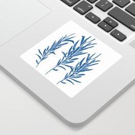 Eucalyptus Branches Blue Sticker