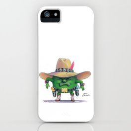 Pea Shooter iPhone Case